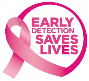 Breast Cancer Action Early Detection Saves Lives Logo
