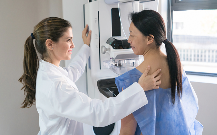 Getting prepared for your mammogram